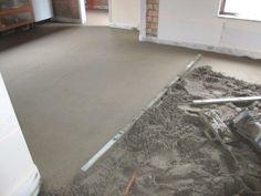 cement dek vloer maken
