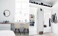 Plads til det hele: Arkitektens funktionelle ideer Algot, Storage Organization, Storage Ideas, Interior Inspiration, Plads, Bedroom, Furniture, Fest, Home Decor