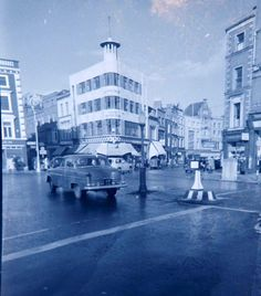 Grafton St from the corner of Stephens Green 1950s