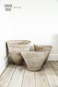 Woven baskets...