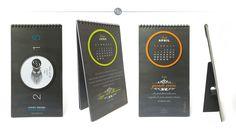 Table Calendar / Graphik design and printer: #CSCattapan on paper #CrushMais by #Favini