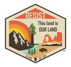 Design for the Alt National Park movement : graphic_design