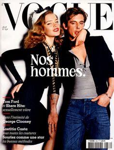 Natalia Vodianova and Werner Schreyer by Mario Testino / Vogue Paris April 2003
