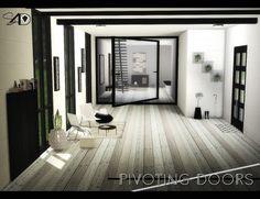 Sims 4 Designs: Pivoting Doors • Sims 4 Downloads