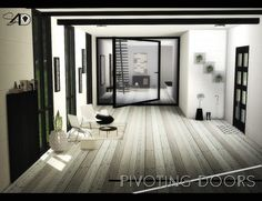 Sims 4 Designs: Pivoting Doors • Sims 4 Downloads