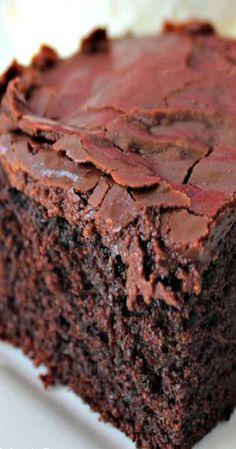Copycat Cracker Barrel Double Fudge Coca Cola Cake