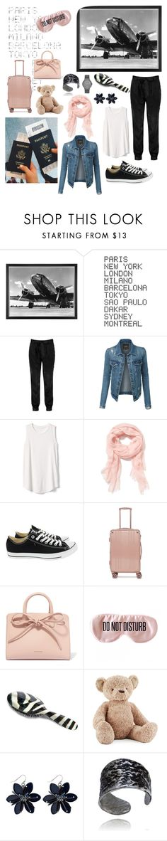 """""""International Traveler"""" by curly3996 ❤ liked on Polyvore featuring Eichholtz, ADZif, Boohoo, LE3NO, Gap, Old Navy, Converse, CalPak, Mansur Gavriel and BaubleBar"""