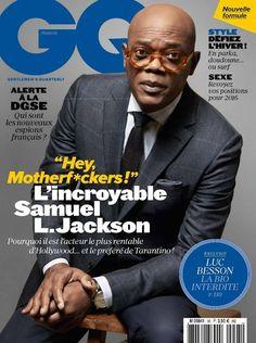 Male Fashion Trends: Samuel L. Jackson para GQ Francia Enero 2016