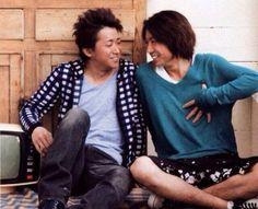 ohno satoshi and masaki aiba --- ARASHI
