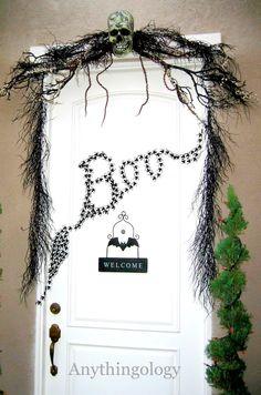 Anythingology: Halloween door