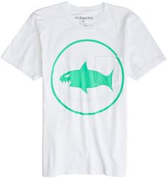 AMBSN SHARKBITE SS TEE | Swell.com