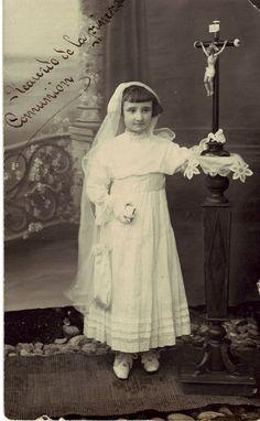 1910 Fotografías antiguas de Huelma y sus vecinos. BLOG TORRE DEL AGUA.: Primera Comunión