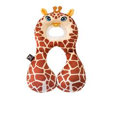 BenBat Travel Friends Total Head Support 1 - 4 Years - Giraffe