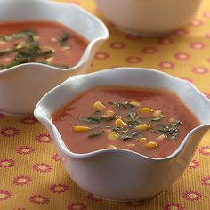 #Recipeoftheday: Roasted Tomato Soup. With only 95 calories a serving, you'll feel great about downing this healthy soup – and will have plenty of room for a side of crusty bread #meatlessmonday