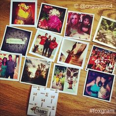 just had instagram pics from Foxgram and they are awesome... #instagramprints #foxgram www.foxgram.com $0.25 each