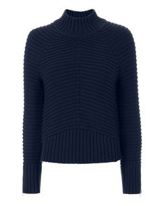 Pandora Zip Detail Sweater Pullover, New Wardrobe, Clothes For Sale, Pandora, Turtle Neck, Zip, Detail, Long Sleeve, Sleeves