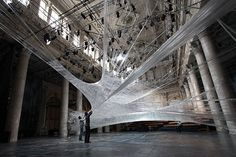 Packing Tape Design Installation   Numen/For Use   70-45km of tape