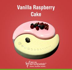 Celebrate the true spirit of Ying Yang & Karma with the sweet and soothing taste of vanilla and raspberry! Order By Clicking On The Pin! Order Cakes Online, Cake Online, Raspberry Cake, Cake Delivery, Cake Shop, Boy Birthday Parties, Cakes And More, Karma, Wedding Cakes