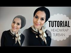 TURBAN TUTORIAL WITH LIBERTY LONDON | OOTD! - YouTube
