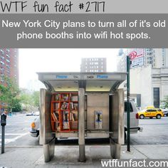 New York City Ideas For WiFi Hot Spots - WTF fun facts