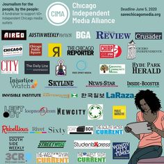 Thank you @chicagomusicguide & Dennis Kelly for creating this gorgeous collage for @chiindymedia! ❤️ It's not too late to donate if you haven't already to the #SaveChicagoMedia campaign. You can donate to one of the 43 participating outlets or all of us. Every dollar helps keep local independent journalism alive.  The deadline is June 5: savechicagomedia.org  #linkinbio #journalism #localjournalism #independentmedia #chicagogram #Chicago Public Chicago, Chicago City, Journalism, Outlets, Fundraising, Campaign, June, Raise Funds, Organizations