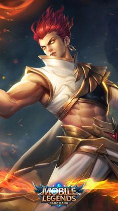 Son of Flames, Pale Flame, Shikigami Summoner, Dictator. Mobile Legend Wallpaper, Boys Wallpaper, Marvel Wallpaper, Warrior Girl, Samurai Warrior, Moba Legends, Roblox Funny, The Legend Of Heroes, Best Mobile