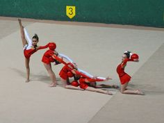 Conjunto Alevín A, Club Gimnasia Rítmica Donosti Remo, Ballet, Rhythmic Gymnastics, Basketball Court, Wrestling, Club, Sports, Photos, Dance