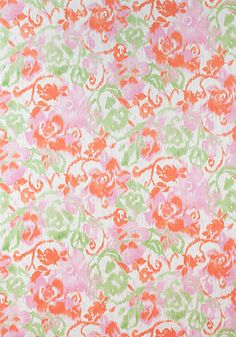 WATERFORD FLORAL, Pink, F924340, Collection Bridgehampton from Thibaut