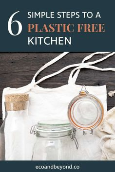 6 Simple Tips for Creating a Plastic Free Kitchen Bin Bag, Types Of Plastics, Food Waste, Fruit And Veg, Cupboards, Simple, Bathroom, Free, Easy