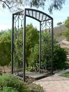 fine 15 Nice Metal Garden Arbors and Trellises