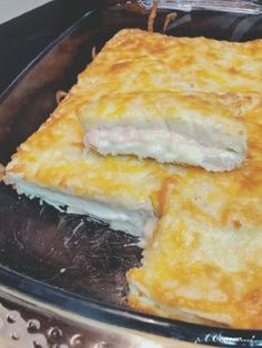 ¡¡¡A Comer…!: Pastel de pan bimbo, jamón, queso y bechamel Ham And Cheese, Macaroni And Cheese, Quiches, Empanadas, Brie, Tacos And Burritos, Tasty, Yummy Food, Latin Food