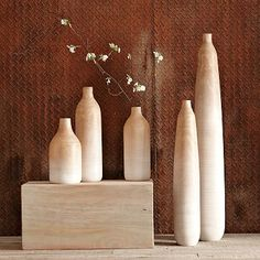 I love the Wooden Ombre Vases on westelm.com