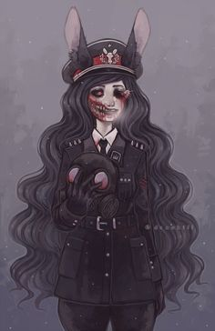 Blood and Creepy anime girl Creepy Drawings, Creepy Art, Cute Drawings, Arte Horror, Horror Art, Character Art, Character Design, Character Inspiration, Anime Negra