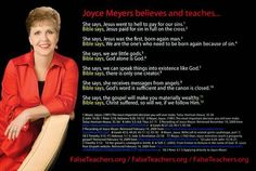 The End Time: What Joyce Meyer believes & teaches, what Joel Osteen believes & teaches