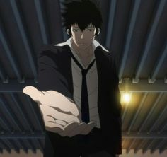 Psycho Pass, Kougami Shinya. All I can say is, Wow.