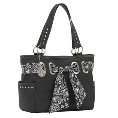 Bandana Signature Tote Cool Black ** For more information, visit image link.