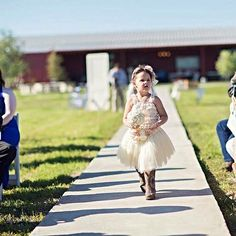 Country sweet flower girl dusty rose lace and boots. Texas Flower Girl # event center # flower girl boot's