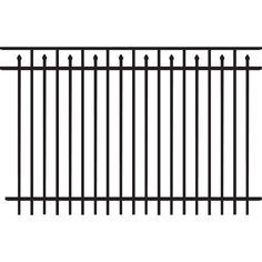 Steel Rail Fence Panel Kennel Plans Pinterest Rail