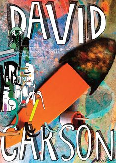 David Carson presented by Jane Fender Byron Bay NSW Australia 2014 Byron Bay is a large small town surfing community in Australia Collage Poster, David Carson Design, Cocoa Beach, Vintage Graphic Design, Illustrations, Byron Bay, Online Art Gallery, My Images, Vintage Posters