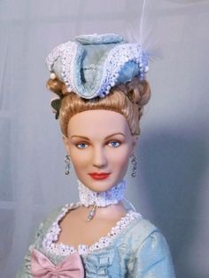 About MARIE ANTOINETTE: Inspired by Kirsten Dunst repaint by Annie
