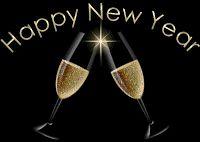 BRINDISI CHAMPAGNE - HAPPY NEW YEAR - CheLaVitaContinua