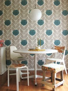 dining room wall paper