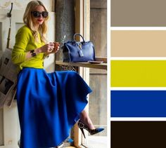 Color Blocking Outfits For An Eye Catching Look This Spring Colour Combinations Fashion, Color Combinations For Clothes, Fashion Colours, Colorful Fashion, Color Combos, Color Blocking Outfits, Color Schemes, Mode Outfits, Casual Outfits