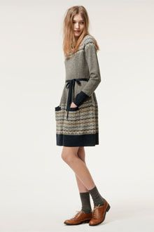 I simply adore this dress. I would wear it all winter long. Cozy pockets