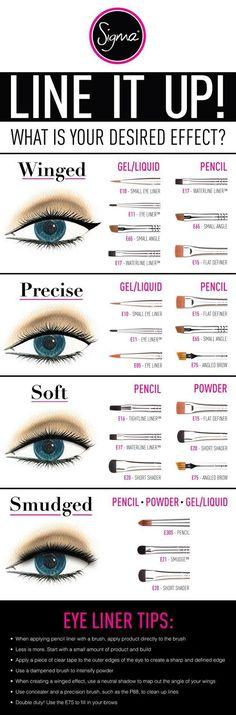 Best Makeup Eyeliner Brushes   Best Makeup Tutorials