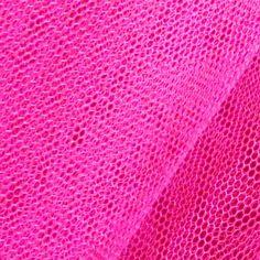 Für einen Rock oder coole Partydeko besten geeignet: #Tüllstoff Farbe Hot #Pink