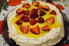 Beautiful Passover Lemon Pavlova Dessert.. Not too difficult either!