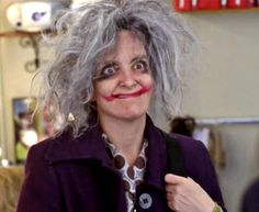 Liz Lemon as the Joker. Tina Fey is my fave.