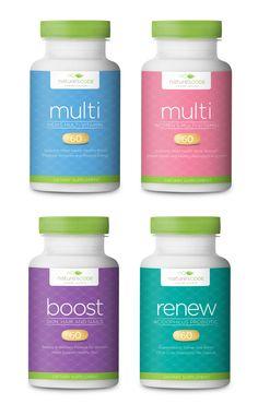 Health & Wellness Supplement Branding & Packaging on Behance