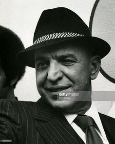 Actor Telly Savalas sighted on location filming Kojak on March 18th 1976